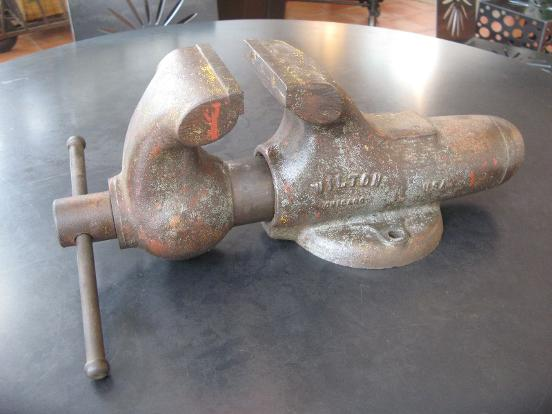 Wilton Vise, flamingsteel.com, Roy Mackey, Vintage tools