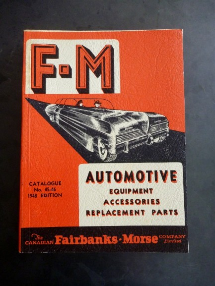 Vintage parts book, flamingsteel.com, roy mackey
