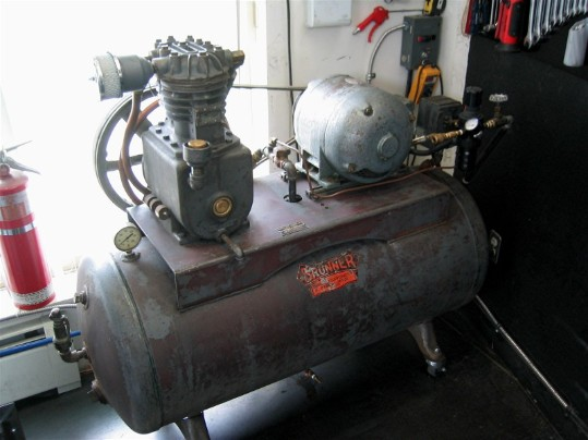 Brunner air compressor flamingsteel.com