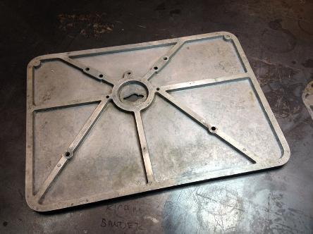 drill press protector, flamingsteel.com, roy mackey, steel art