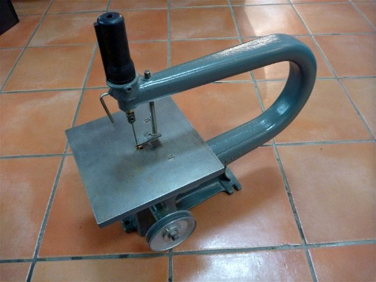 Walker Turner scroll saw, the driver line, flamingsteel.com, steel sculpture, steel art, roy mackey, New York Times