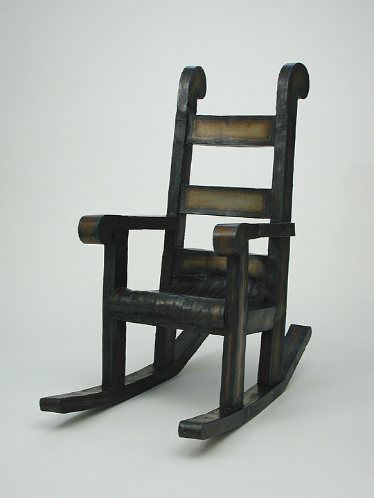 Rocker by Roy Mackey Flamingsteel.com