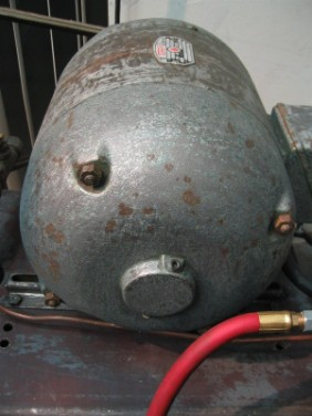 Brunner 2hp compressor flamingsteel.com