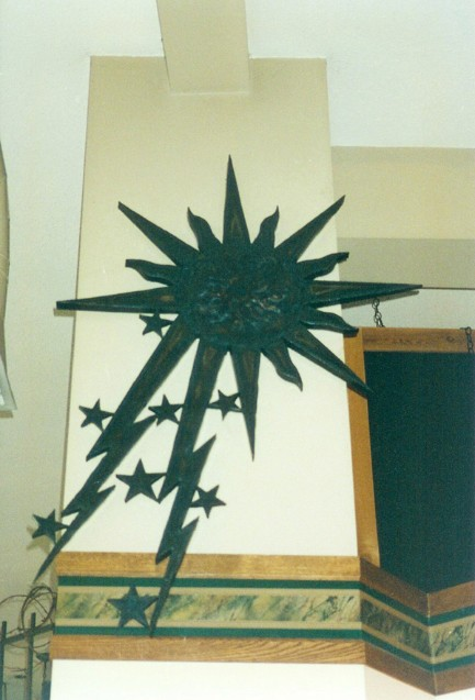 Sun Storm, roy mackey, steel art, steel sculpture, flamingsteel.com, vancouver bc