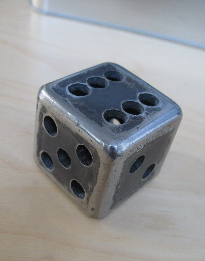 Free steel dice at flamingsteel.com