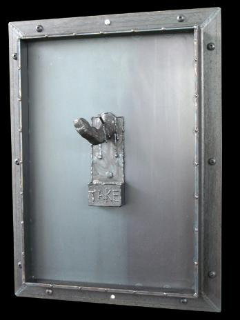 door series, flamingsteel.com, roy mackey, steel sculpture, steel art, vancouver bc