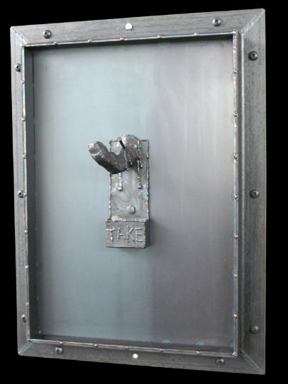 door series, flamingsteel.com, steel sculpture, steel art, roy mackey, vancouver bc