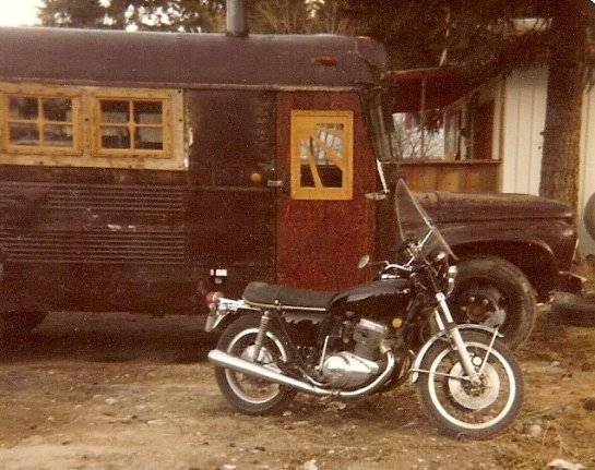 old bus, flamingsteel.com, roy mackey